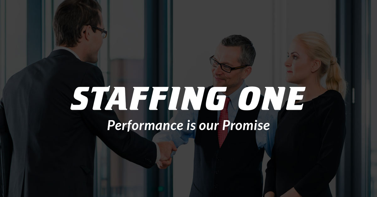 Staffing One - Performance is Our Promise